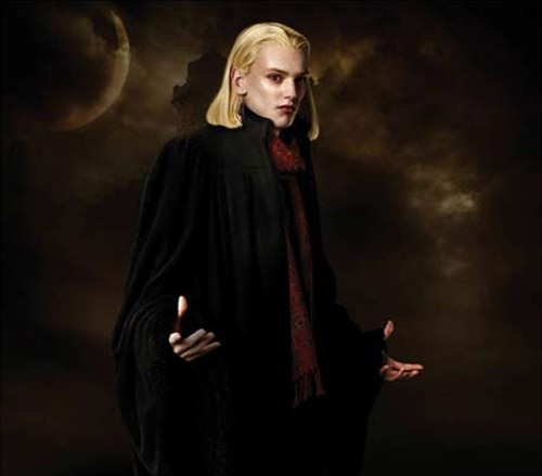 Jamie Campbell Bower as Caius in The Twilight Saga: New Moon