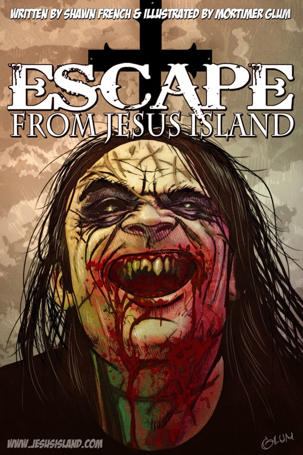 Take a Look at the Trailer for Upcoming Graphic Novel Escape From Jesus Island