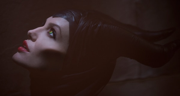 First Look at Angelina Jolie as the Villainous Maleficent
