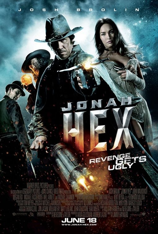 Second Jonah Hex Poster Unleashed