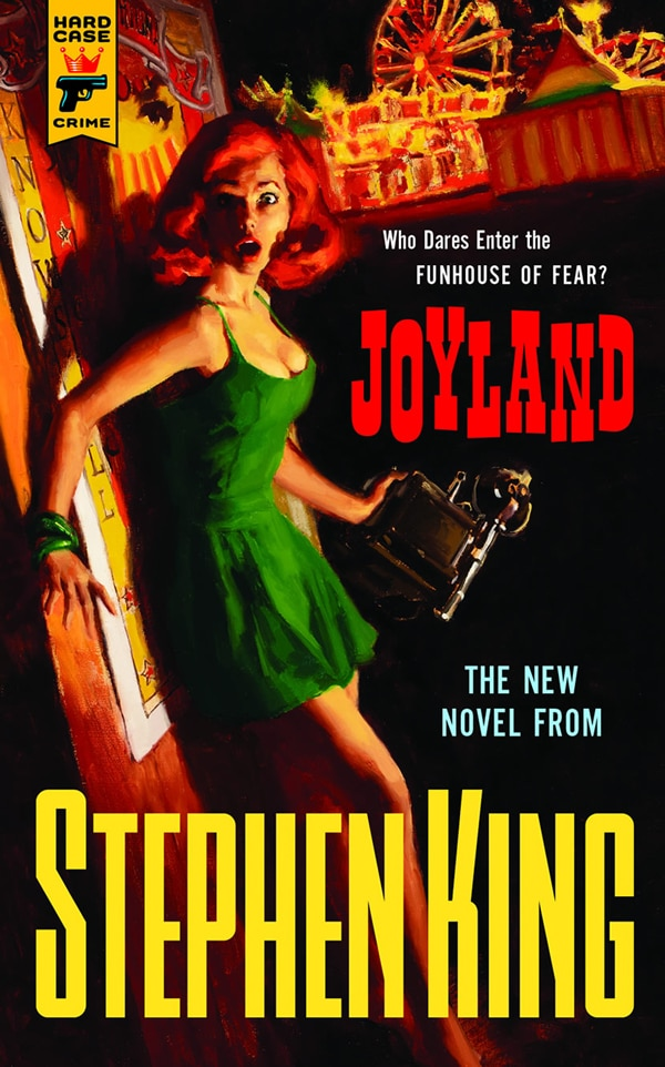 Cover Art and Release Date Unveiled for Stephen King's Joyland