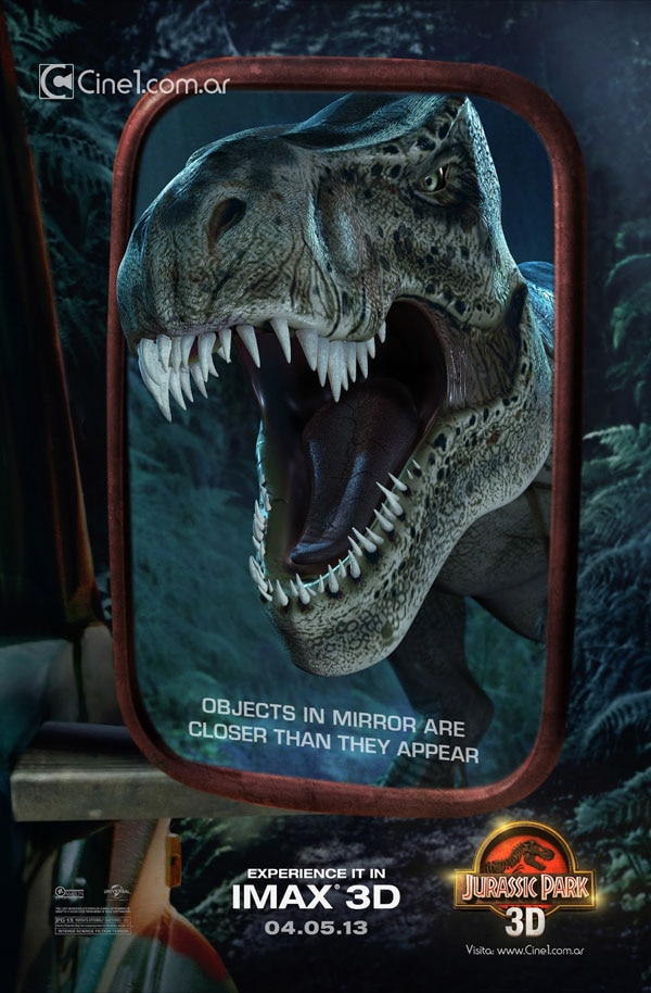 New Jurassic Park 3D Poster is Closer than You Think