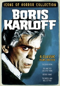 Icons of Horror Collection - Boris Karloff DVD (click for larger image)