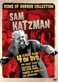 Sam Katzman: Icons of Horror Collection DVD (click for larger image)