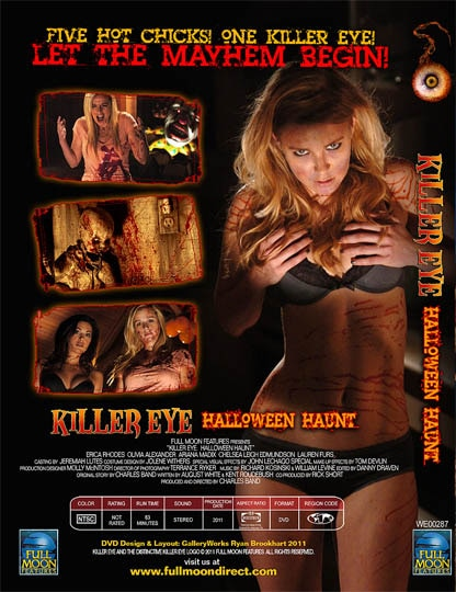 kehh - Killer Eye Sequel Trailer Teases Hot Girl-on-Eyeball Action