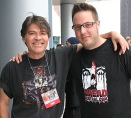 Jack Ketchum and Evil Andy at this year's Festival of Fear!