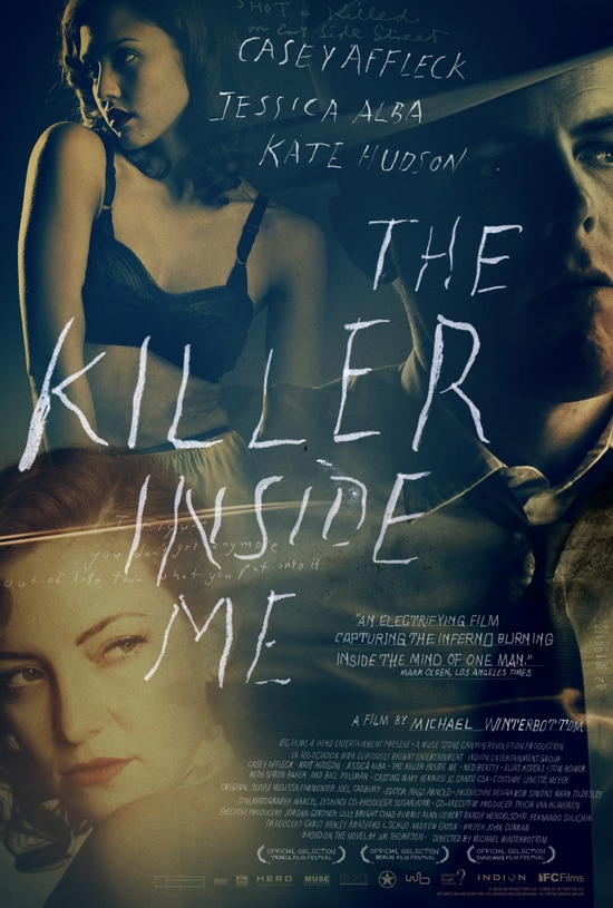 The Killer Inside Me Theatrical Trailer and One-Sheet Debut