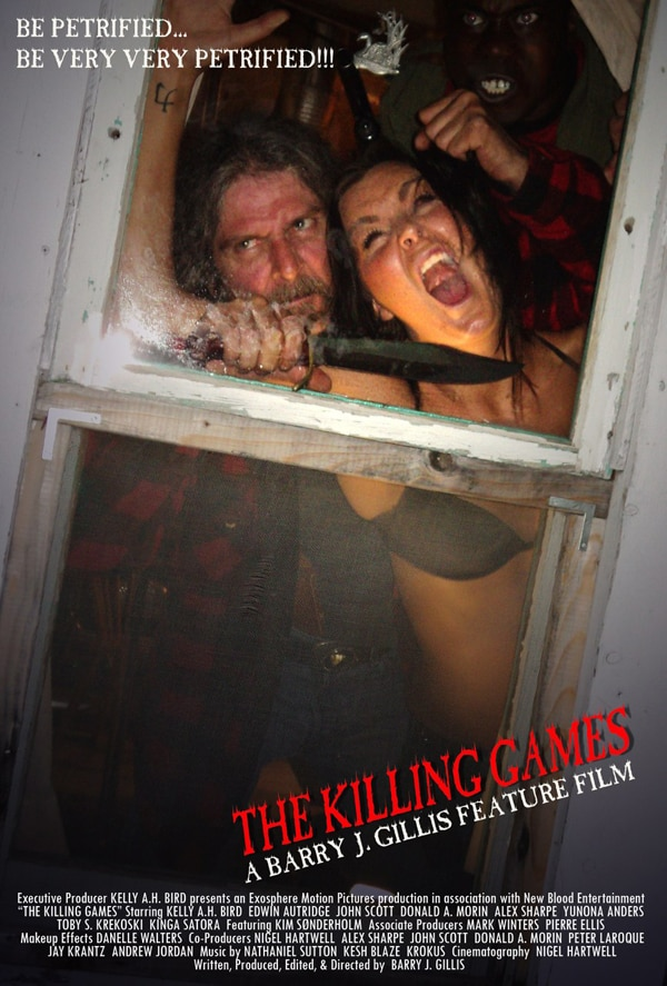 Trailer and Poster Revealed for Canadian Serial Killer Flick The Killing Games