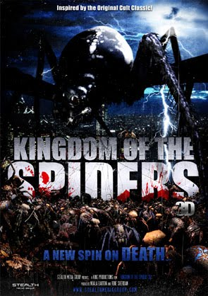 Early Teaser Poster for the 3D Kingdom of the Spiders Remake