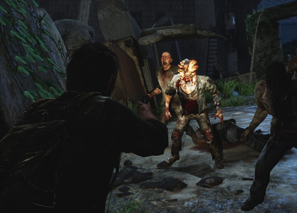 Only a Mother Could Love These Faces from The Last of Us