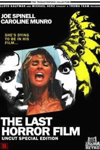 The Last Horror Film Uncut Special Edition DVD