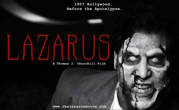lazarusposter - Filming Set to Commence on Lazarus; Casting Details, Artwork, and Teaser Trailer Available Now