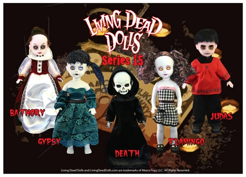 Living Dead Dolls Series 15 (click for larger image)
