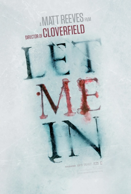 New Let Me In One-Sheet Showcases Blood on the Snow