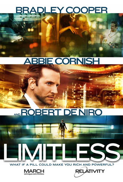 TTrailer and One-Sheet Debut - Limitless
