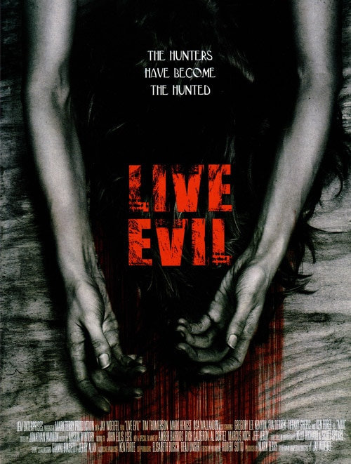 Live Evil Poster (click for larger image)