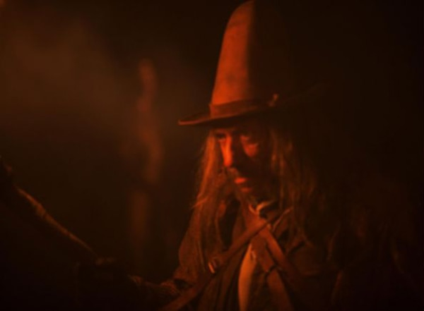 Sid Haig Hunting Witches in Rob Zombie's The Lords of Salem