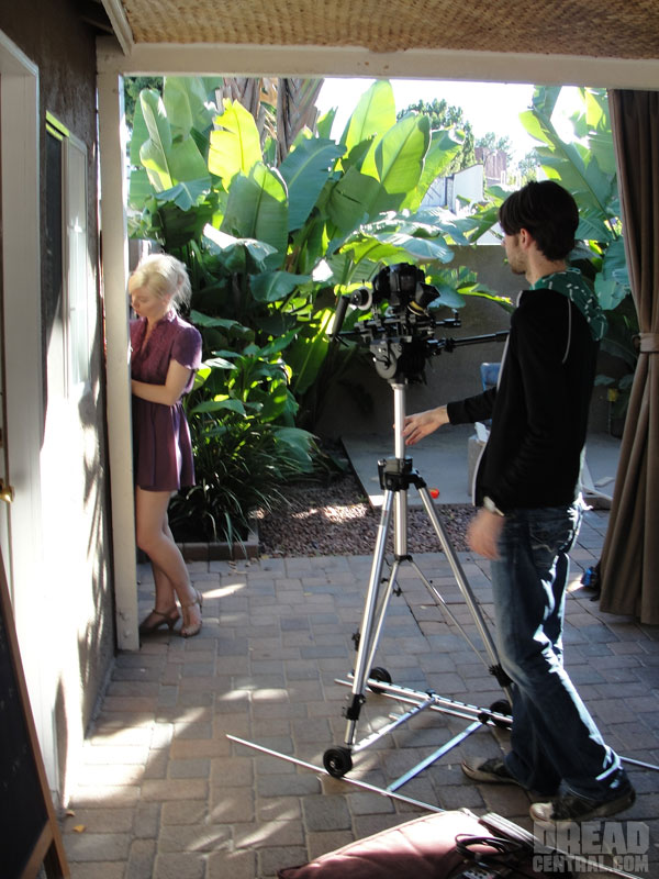 Excl. Dread Visits the Set of Lovesick Captivity