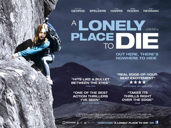 New UK Quad One-Sheet for A Lonely Place to Die