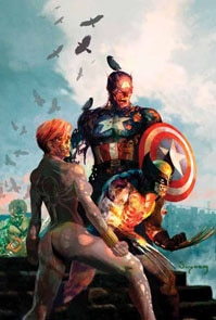 Marvel Zombies Vs. Army of Darkness #2 (click to see it bigger!)