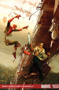 Marvel Zombies Vs. Army of Darkness #3 (click to see it bigger!)