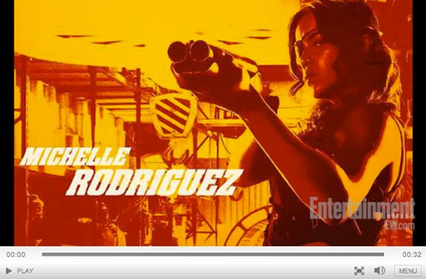 #SDCC: Michelle Rodriguez Will Punch You in the Nuts in Latest Machete Kills Footage