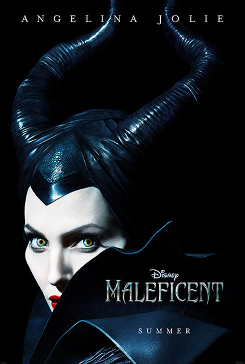 maleficent - Angelina Jolie Is Bewitching in These Teaser Posters for Maleficent