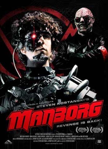 Manborg and Priest of Evil Firing Their Way to Home Video