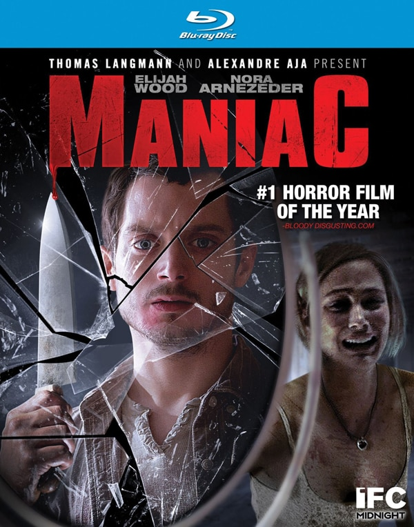 maniac blu ray - Maniac Hits Blu-ray and DVD in October; Artwork Revealed