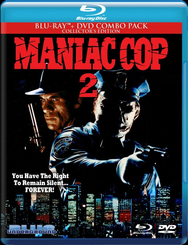 maniac cop 2 blu ray combo - Maniac Cop 2 Blu-ray - Date and Specs Revealed