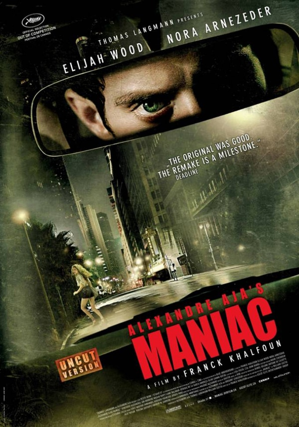 First Look at Maniac Remake Sales Art