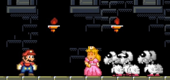 Super Mario's World Brought Down by The Walking Dead Koopas!