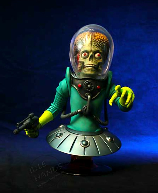 Gentle Giant's 2012 San Diego Comic-Con Exclusive Mars Attacks Mini-Bust