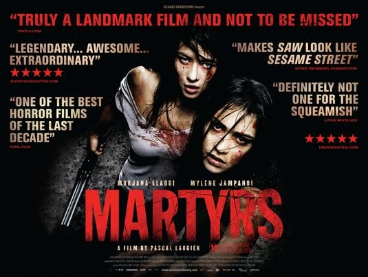 New Acclaimed Martyrs Poster (click for larger image)