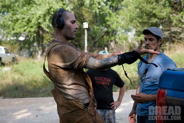 Exclusive Stills from the Set of Madison County (click for larger image)