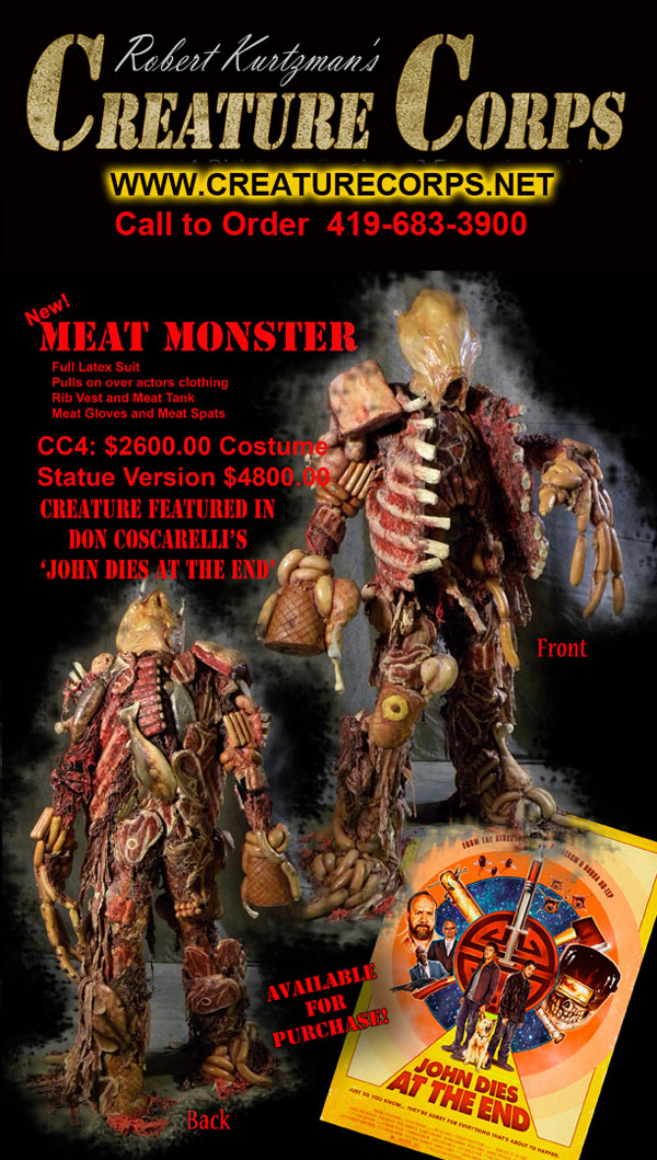 meat monster - Bring the Meat Monster from John Dies at the End Home