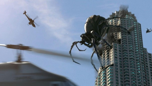 The Trailer Premiere for Big Ass Spider! Spins its Web