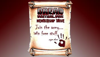 Win Free Stuff in the Dread Central Membership Drive
