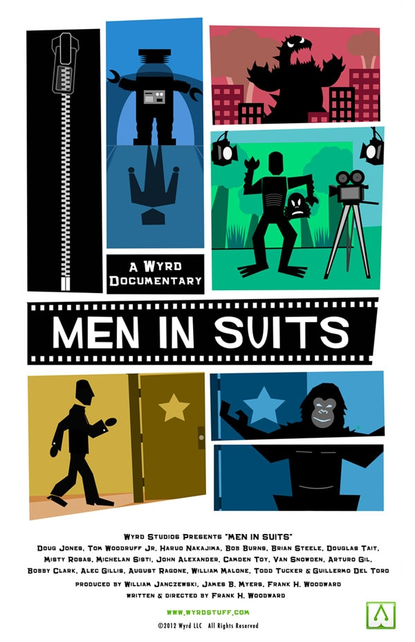 men in suits poster - New Documentary Men In Suits Brings Alive Monster Magic