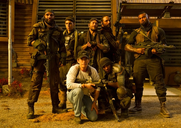 The Mercs Arrive in Latest Riddick Pic!