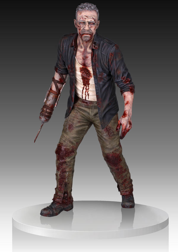 Gentle Giant Expands its Walking Dead Line with Merle Dixon Walker Statue and Zombie Army Men Series 2: Woodbury Arena Survivor Set