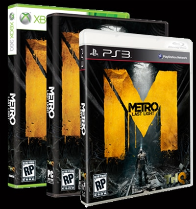 Take a Ride on the Official Gameplay Trailer for Metro: Last Light
