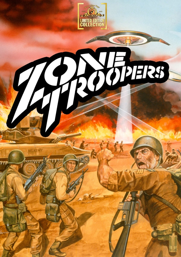 MGM Cranking Out More Obscurities on to Manufactured On Demand DVD: Zone Troopers and Gog