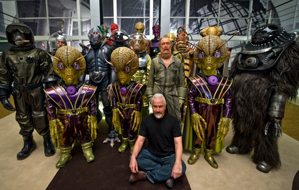 Get a Look at Rick Baker's Amazing Effects Work for Men in Black 3 (click for larger image)