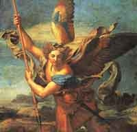 The Archangel Michael finally get his close up