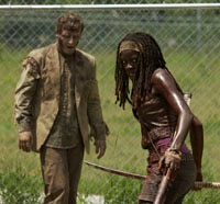 michonne walking dead - The Walking Dead - Michonne Goes on a 47-Second RAMPAGE; Spend Some Loving Moments With Daryl