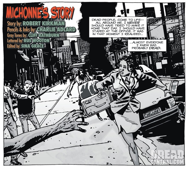 Exclusive Panel from The Walking Dead's Michonne's Origin Story Running in the April Issue of Playboy