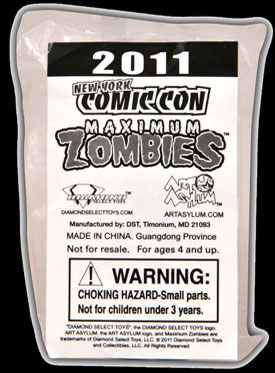 2011 NYCC: Diamond Select Toys to Give Away Zombie Minimate