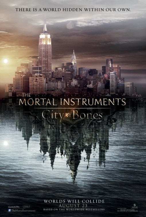 See the City in New Poster for The Mortal Instruments: City of Bones