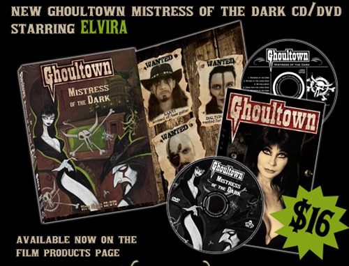 Ghoultown & Gris Grimly's Mistress of the Dark CD/DVD